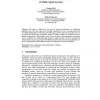 Structural Performance Evaluation of Multi-Agent Systems