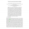 Structure Preserving Semantic Matching