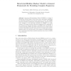 Structured Hidden Markov Model: A General Framework for Modeling Complex Sequences