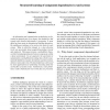 Structured Learning of Component Dependencies in AmI Systems