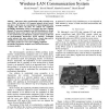 Study of Electromagnetic Noise Coupling in Wireless-LAN Communication System