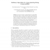 Sublinear Algorithms for Approximating String Compressibility
