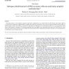 Subspace identification for FDI in systems with non-uniformly sampled multirate data