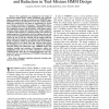 Substate tying with combined parameter training and reduction in tied-mixture HMM design
