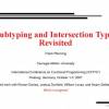 Subtyping and intersection types revisited