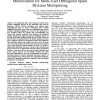 Sum Rate Maximization and Transmit Power Minimization for Multi-User Orthogonal Space Division Multiplexing