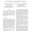 Supervised Nonparametric Information Theoretic Classification