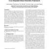 Supporting agile modeling through experimentation in an integrated urban simulation framework