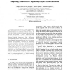 Supporting Mobile Service Usage through Physical Mobile Interaction