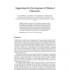 Supporting the Development of Medical Ontologies