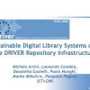 Sustainable Digital Library Systems over the DRIVER Repository Infrastructure