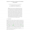 Symbolic Computation of Maximal Probabilistic Reachability