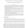 Symbolic quality control for multimedia applications