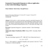 Symmetric Exponential Integrators with an Application to the Cubic Schrödinger Equation