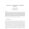 Symmetry and Composition in Probabilistic Theories