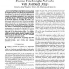 Synchronization and State Estimation for Discrete-Time Complex Networks With Distributed Delays
