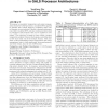 Synergistic temperature and energy management in GALS processor architectures
