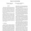 Tangent-Corrected Embedding