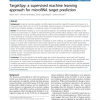 TargetSpy: a supervised machine learning approach for microRNA target prediction