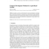 Temporal Development Methods for Agent-Based