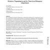 Temporal Implications of Information Technology for Work Practices: Organizing in and for Time in an Emergency Department