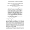 Temporal Knowledge Acquisition and Modeling