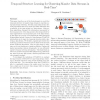 Temporal Structure Learning for Clustering Massive Data Streams in Real-Time