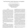 Tensor Product Surfaces Guided by Minimal Surface Area Triangulations