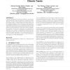Terascale data organization for discovering multivariate climatic trends