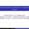 Termination Modulo Combinations of Equational Theories