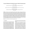 Terrain Classification Using Weakly-Structured Vehicle/Terrain Interaction
