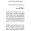 Test Case Design for the Validation of Component-Based Embedded Systems