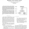 Testing a Network by Inferring Representative State Machines from Network Traces
