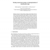 Testing Concurrent Systems: An Interpretation of Intuitionistic Logic