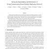 Testing the Dependability and Performance of Group Communication Based Database Replication Protocols
