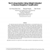 Text Categorization Using Weight Adjusted k-Nearest Neighbor Classification