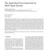 The Agent-Rule-Class framework for Multi-Agent Systems