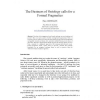 The Business of Ontology calls for a Formal Pragmatics