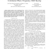 The Capacity of Noncoherent Continuous-Phase Frequency Shift Keying