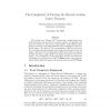 The Complexity of Proving the Discrete Jordan Curve Theorem