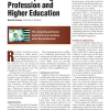 The Computing Profession and Higher Education