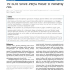 The dChip survival analysis module for microarray data