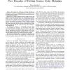 The Debsources Dataset: Two Decades of Debian Source Code Metadata