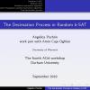 The decimation process in random k-SAT