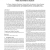 The Design and Implementation of a Wireless Video Surveillance System
