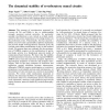 The dynamical stability of reverberatory neural circuits