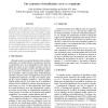 The Economics of Classification: Error vs. Complexity