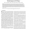 The Effect of Buffering on the Performance of R-Trees