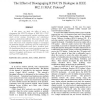 The Effect of Disengaging RTS/CTS Dialogue in IEEE 802.11 MAC Protocol