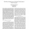 The Effect of Sequence Error and Partial Training Data on BLAST Accuracy